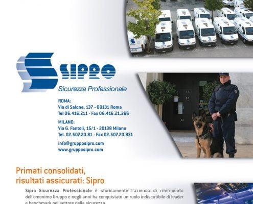 Brochure Gruppo Sipro design Baldanello e Ilari
