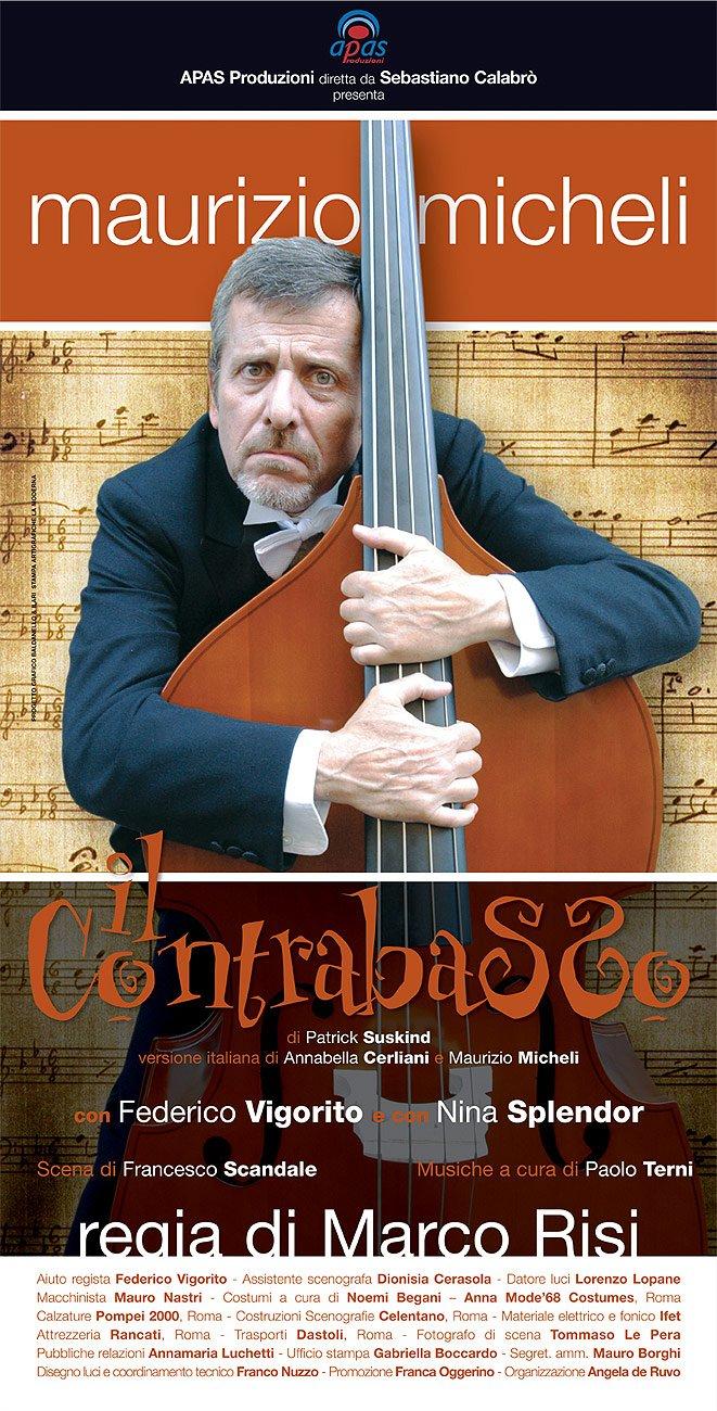 Locandina de Il Contrabbasso - Commedia con Maurizio Micheli