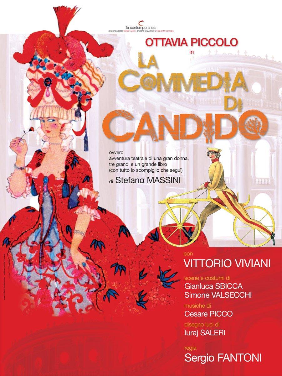 La Commedia di Candido Poster