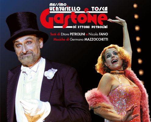 Massimo Venturiello e Tosca GASTONE CD design Baldanello e Ilari