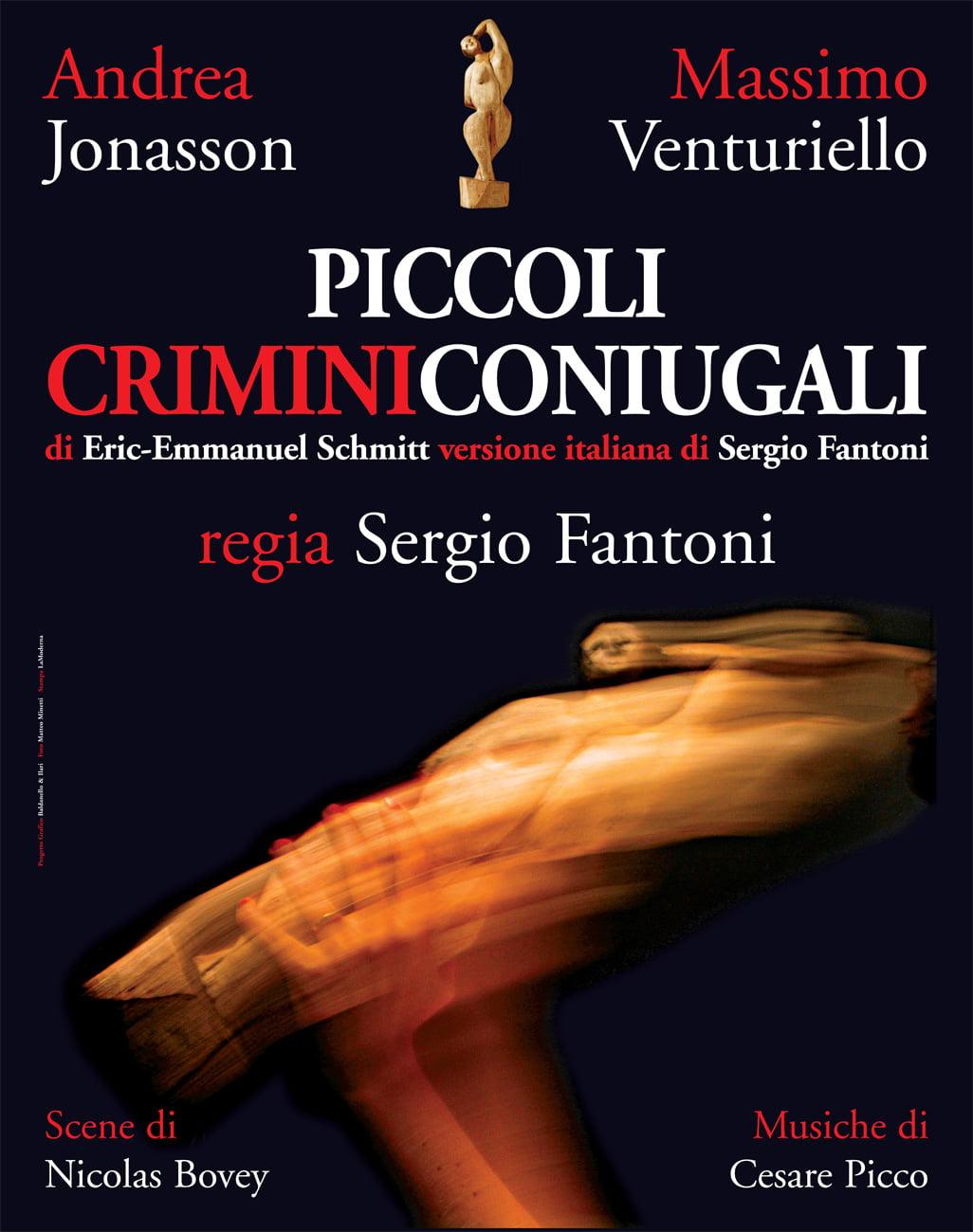 Piccoli Crimini Coniugali Poster