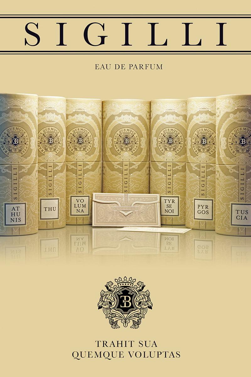 SIGILLI eau de parfum - Cartello Vetrina