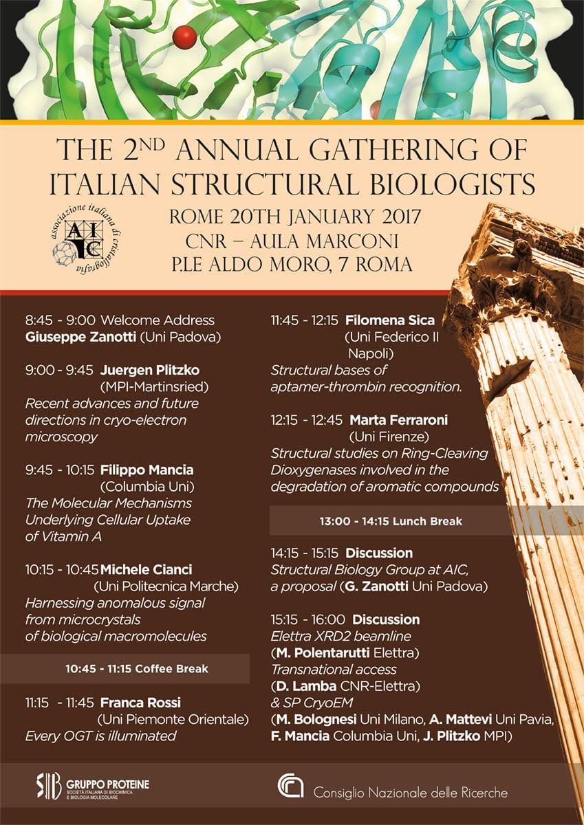 AIC Annual Gathering Locandina
