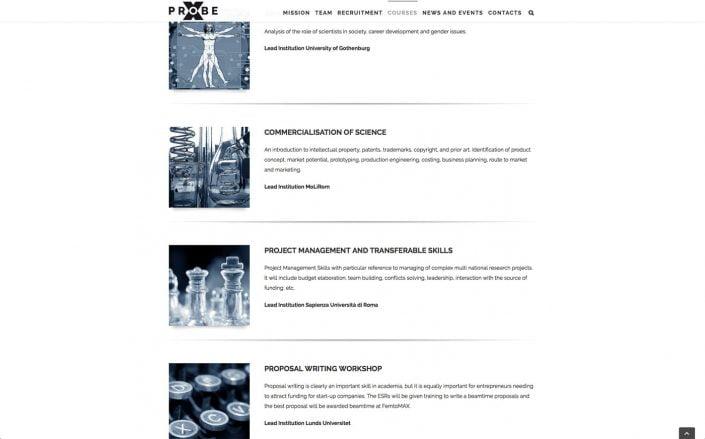 X-Probe website