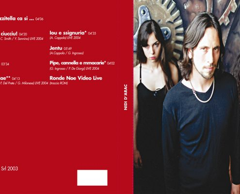 Digipak Back NIDI D'ARAC gratest hits