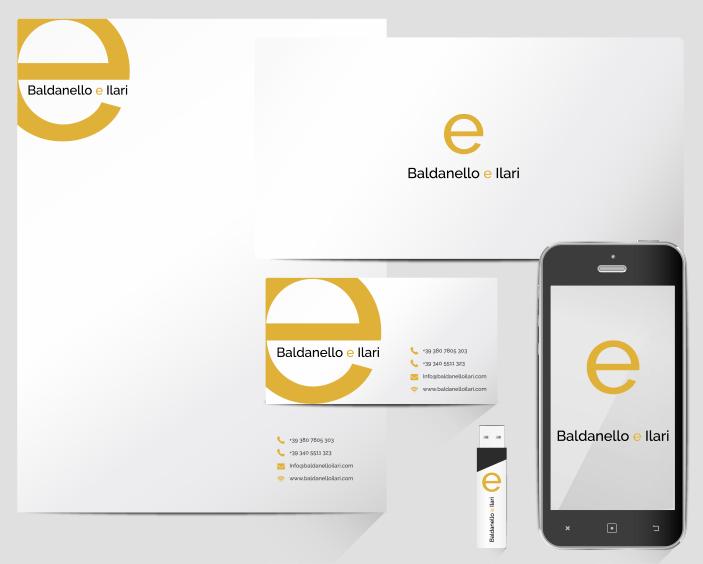 Brand Identity design Baldanello e Ilari
