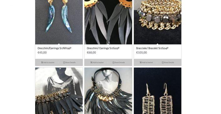 CENTOPERCENTOCACHEMIRE e-commerce web page