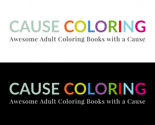 CAUSE COLORING Awesome adult coloring books with a cause