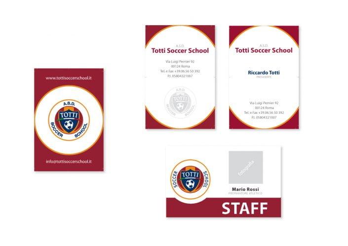 biglietti da visita e badge