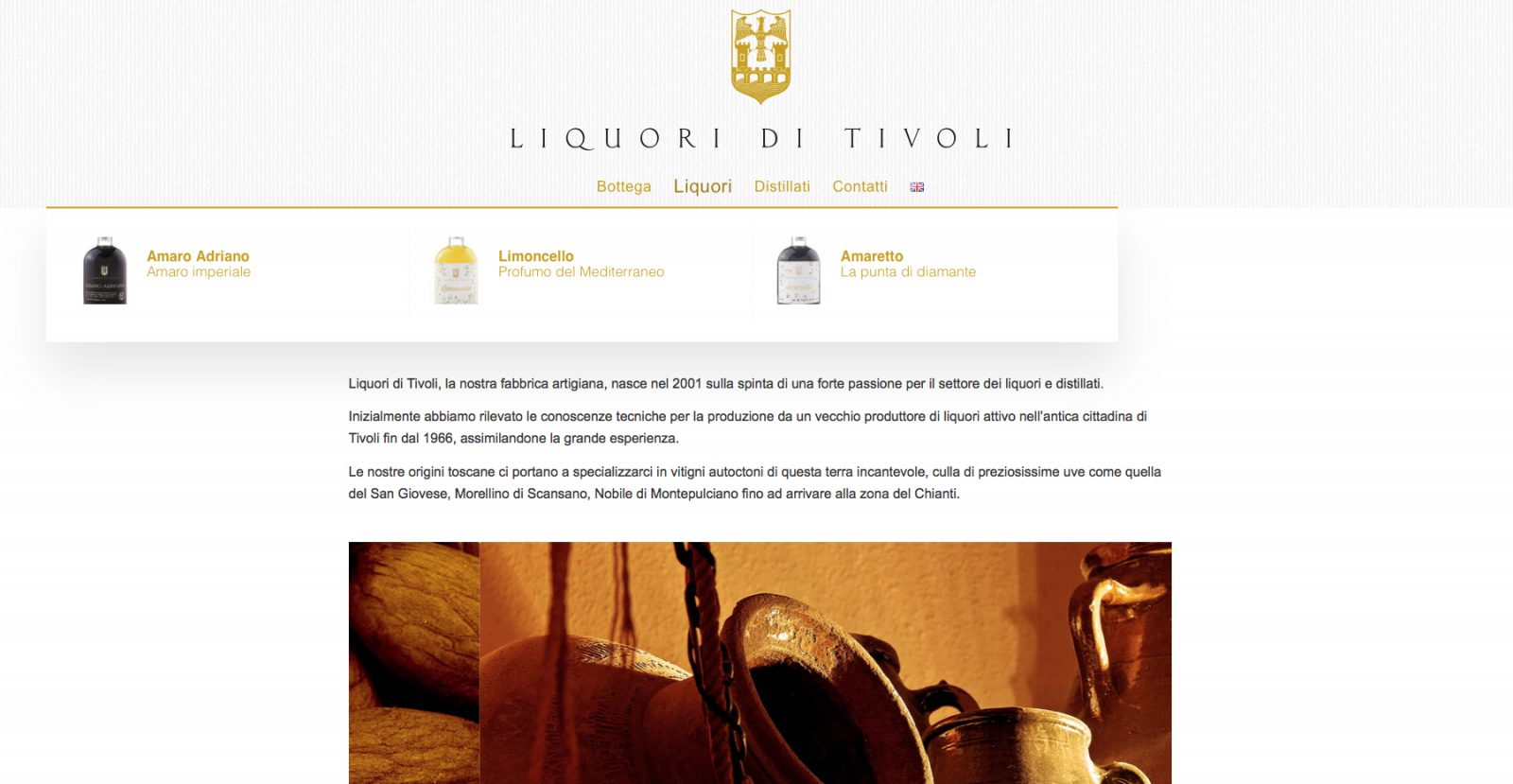 LIQUORI di TIVOLI - menu